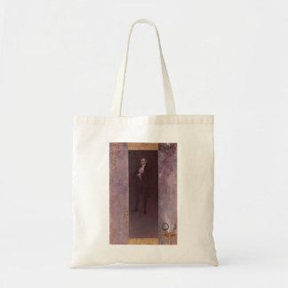 Gustav Klimt- Josef Lewinsky Tote Bags