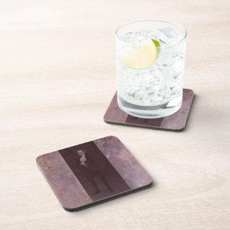 Gustav Klimt- Josef Lewinsky Beverage Coasters
