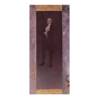 Gustav Klimt- Josef Lewinsky Custom Rack Card