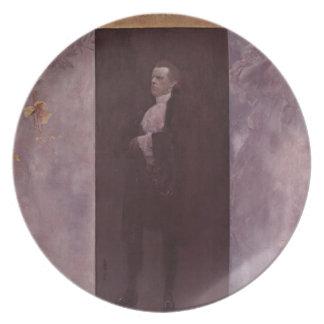 Gustav Klimt- Josef Lewinsky Plate