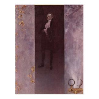 Gustav Klimt- Josef Lewinsky Postcard