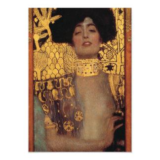 Gustav Klimt Judith Invitations