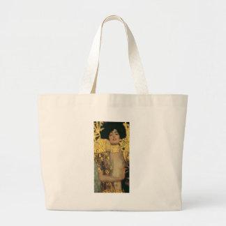 Gustav Klimt Judith Jumbo Tote Bag