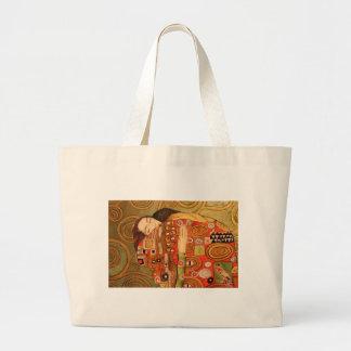 Gustav Klimt Large Tote Bag