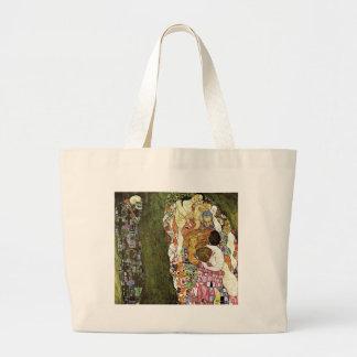 Gustav Klimt ~ Life and Death Canvas Bag