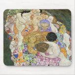 Gustav Klimt Life and Death Mouse Pad