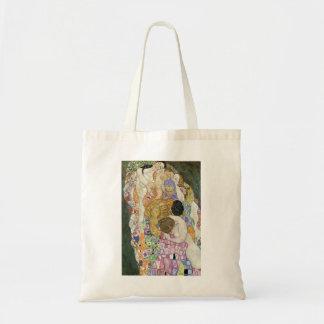 Gustav Klimt Life and Death Tote Bag