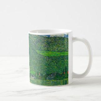 """Gustav Klimt, """"Litzlberg ON Lake Attersee"""" Coffee Mug"""