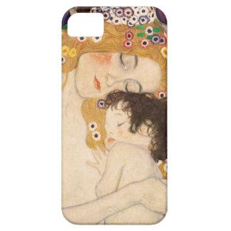 Gustav Klimt Mother And Child iPhone 5 Cases