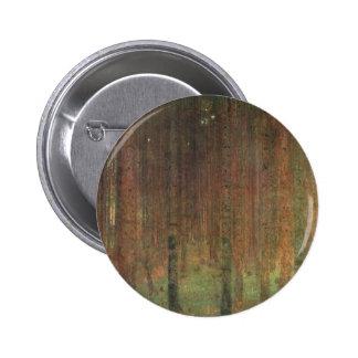 Gustav Klimt - Pine Forest 6 Cm Round Badge