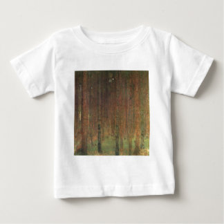 Gustav Klimt - Pine Forest Baby T-Shirt