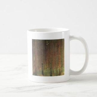 Gustav Klimt - Pine Forest Coffee Mug