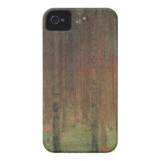 Gustav Klimt - Pine Forest iPhone 4 Case-Mate Cases