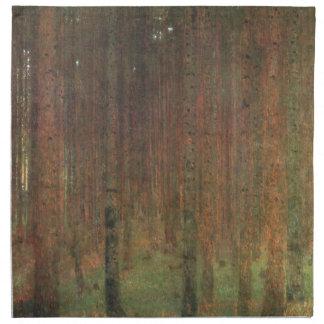 Gustav Klimt - Pine Forest Napkin