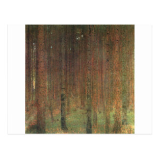 Gustav Klimt - Pine Forest Postcard