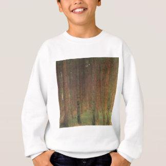 Gustav Klimt - Pine Forest Sweatshirt