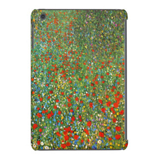 Gustav Klimt Poppy Field iPad Mini Cases
