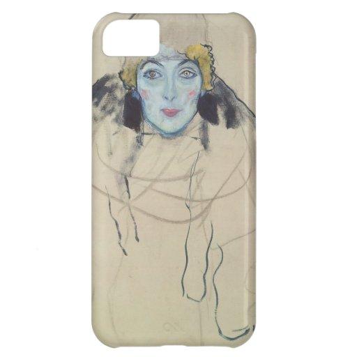 Gustav Klimt- Portrait of a Lady (unfinished) iPhone 5C Cases