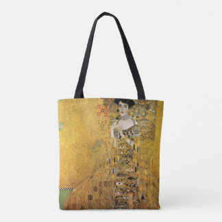 GUSTAV KLIMT - Portrait of Adele Bloch-Bauer 1907 Tote Bag