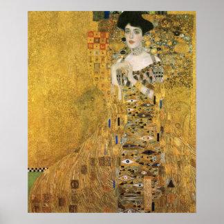 Gustav Klimt - Portrait Of Adele Bloch Bauer Poster
