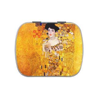 Gustav Klimt Portrait Of Adele Bloch-Bauer Candy Tins
