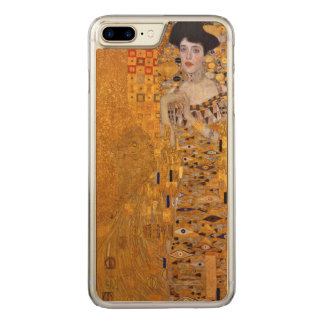Gustav Klimt Portrait of Adele GalleryHD Vintage Carved iPhone 8 Plus/7 Plus Case