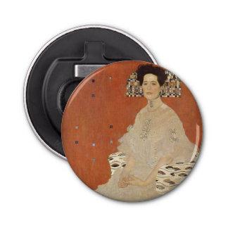 GUSTAV KLIMT - Portrait of Fritza Riedler 1906 Bottle Opener