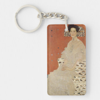 GUSTAV KLIMT - Portrait of Fritza Riedler 1906 Key Ring