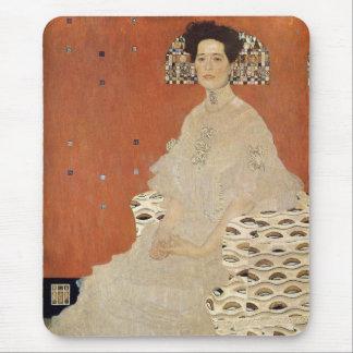 GUSTAV KLIMT - Portrait of Fritza Riedler 1906 Mouse Pad