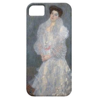Gustav Klimt Portrait of Hermine Gallia iPhone Cas iPhone 5 Case