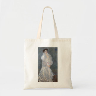 Gustav Klimt Portrait of Hermine Gallia Tote Bag