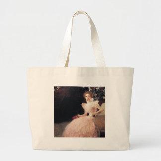 Gustav Klimt // Portrait of Sonja Knips Tote Bags