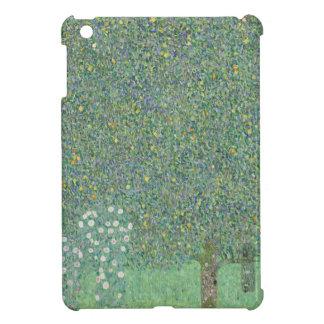 Gustav Klimt - Rosebushes under the Trees Artwork Case For The iPad Mini