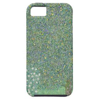 Gustav Klimt - Rosebushes under the Trees Artwork Case For The iPhone 5