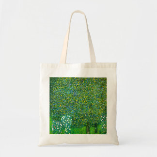 Gustav Klimt Roses Under The Pear Tree Budget Tote Bag