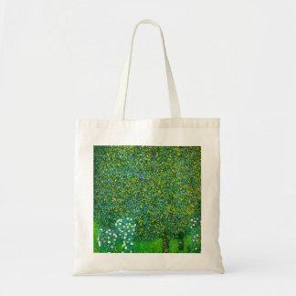 Gustav Klimt Roses Under The Pear Tree Budget Tote Bag