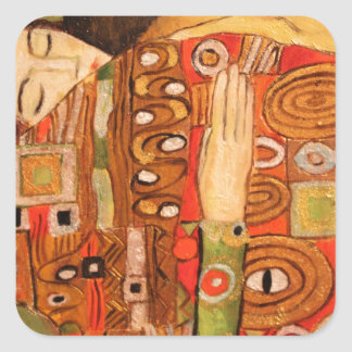 Gustav Klimt Square Sticker
