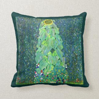 Gustav Klimt: Sunflower Cushion