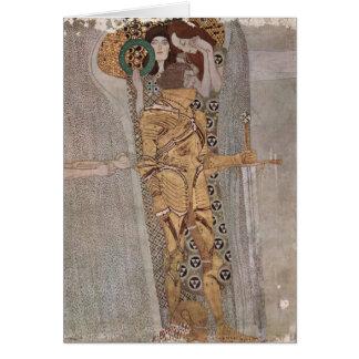 Gustav Klimt - The Beethoven Frieze Card