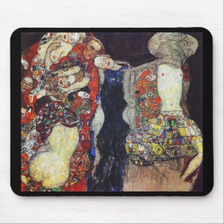 "Gustav Klimt, ""The Bride"" (1917/18 unfinished) Mouse Pad"