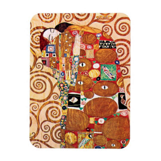Gustav Klimt - The Embrace - Fine Art Painting Magnet