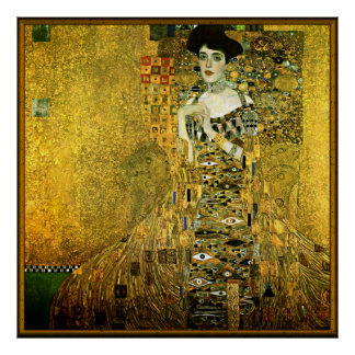 Gustav Klimt The Golden Lady Poster