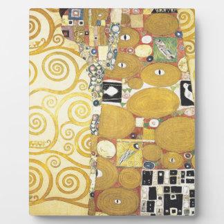 Gustav Klimt - The Hug - Classic Artwork Plaque