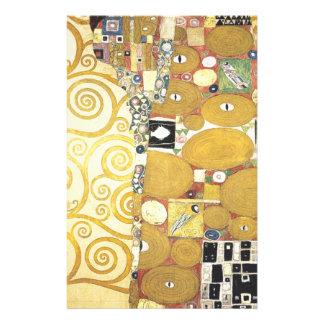 Gustav Klimt - The Hug - Classic Artwork Stationery
