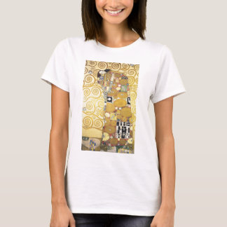 Gustav Klimt - The Hug - Classic Artwork T-Shirt