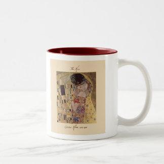 Gustav Klimt The Kiss 1907-08 Mug