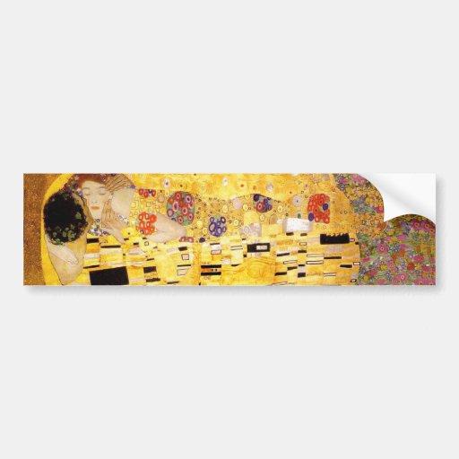 Gustav Klimt The Kiss Bumper Sticker
