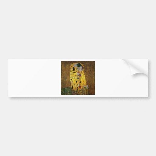 Gustav Klimt The Kiss Bumper Stickers