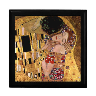 Gustav Klimt: The Kiss (Detail) Gift Box