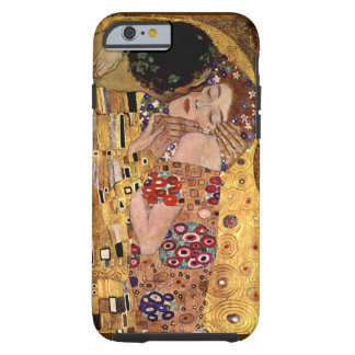 Gustav Klimt: The Kiss (Detail) Tough iPhone 6 Case